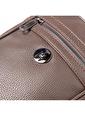 TH Bags TH Bags 2THCM2020003 Fermuarlı İki Bölmeli Kadın Sırt Çantası Kahve